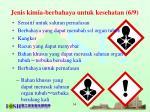 jenis kimia berbahaya untuk kesehatan 6 9