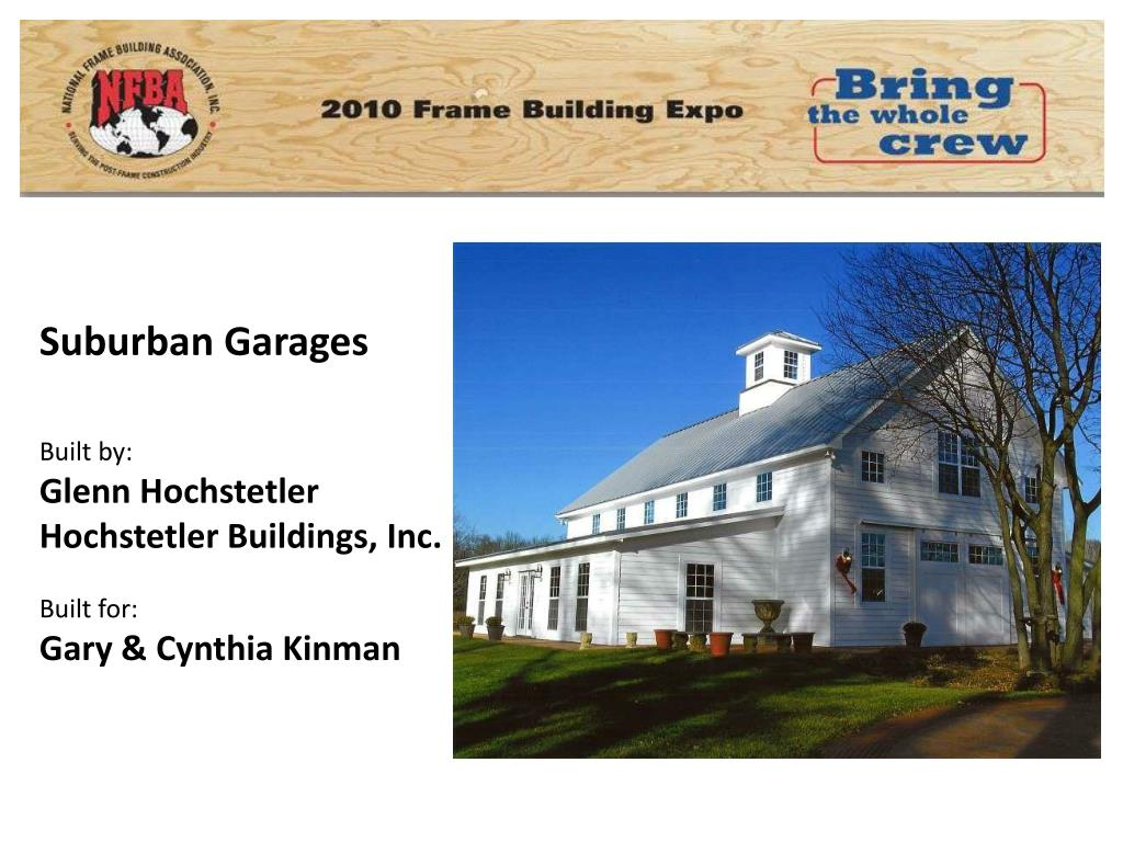 Suburban Garages
