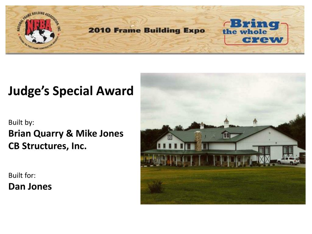 Judge's Special Award