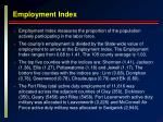 employment index