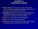 chapter 16 structural design