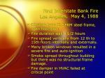 first interstate bank fire los angeles may 4 1988