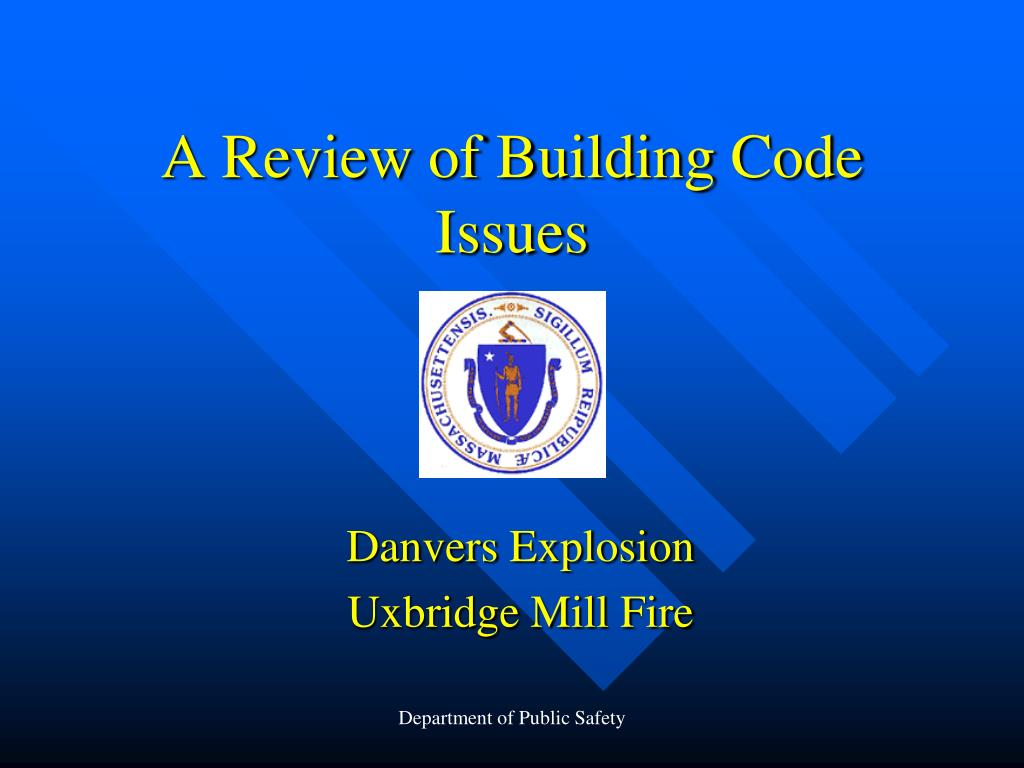 a review of building code issues l.