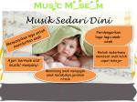 musik sedari dini