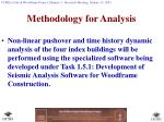 methodology for analysis