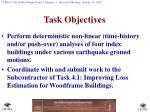 task objectives