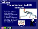 the american aldes solution18