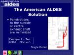 the american aldes solution19
