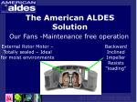the american aldes solution20