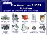 the american aldes solution21