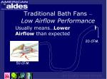 traditional bath fans low airflow performance11