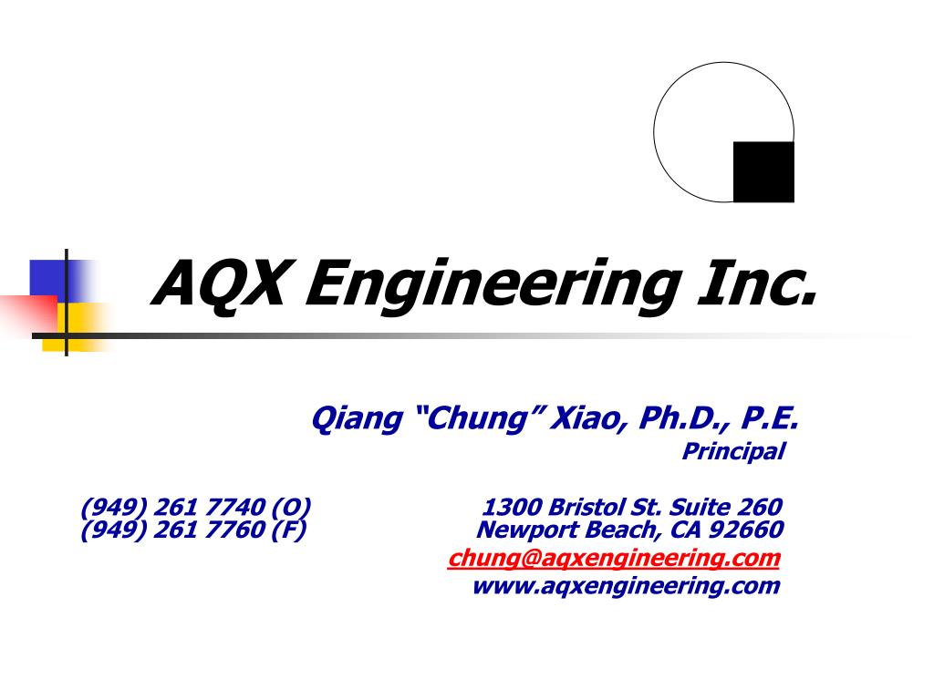 aqx engineering inc l.