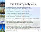 die champs elys es