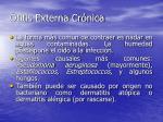 otitis externa cr nica16