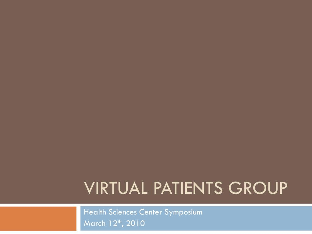 virtual patients group l.