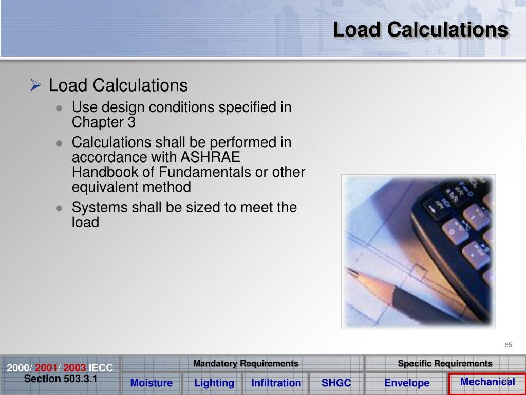 Load Calculations