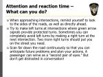 attention and reaction time what can you do12