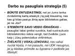 darbo su paaugliais strategija 5