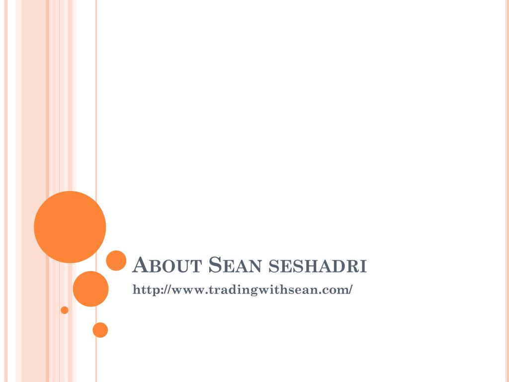 about sean seshadri l.
