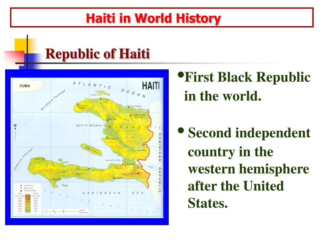 haiti in world history l.
