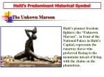 haiti s predominant historical symbol