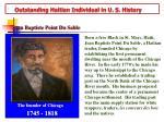 outstanding haitian individual in u s history
