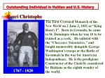 outstanding individual in haitian and u s history