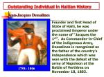 outstanding individual in haitian history