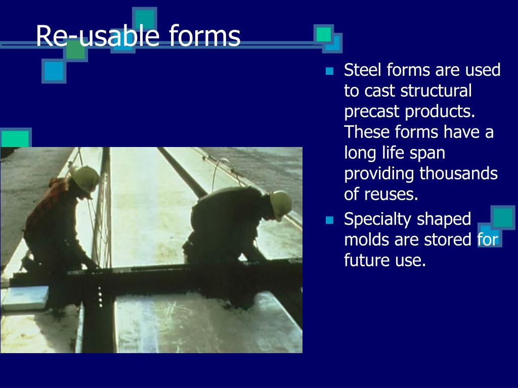 Re-usable forms