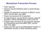 moneygram transaction process