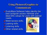 using pictures graphics to communicate20