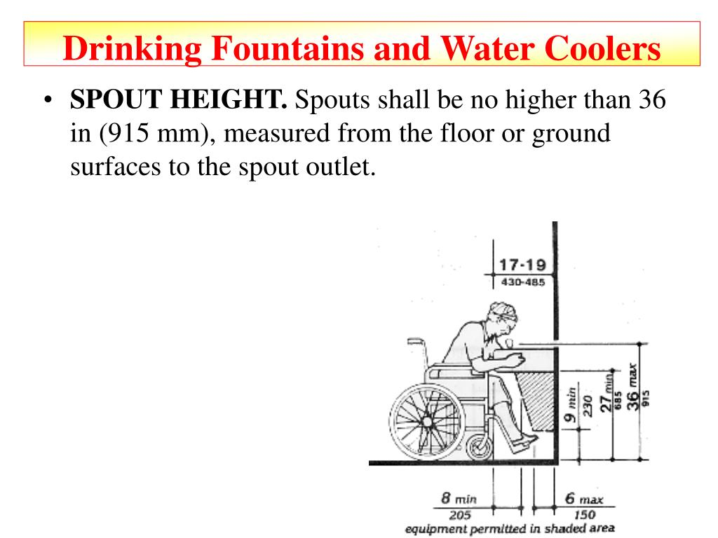Drinking Fountains and Water Coolers