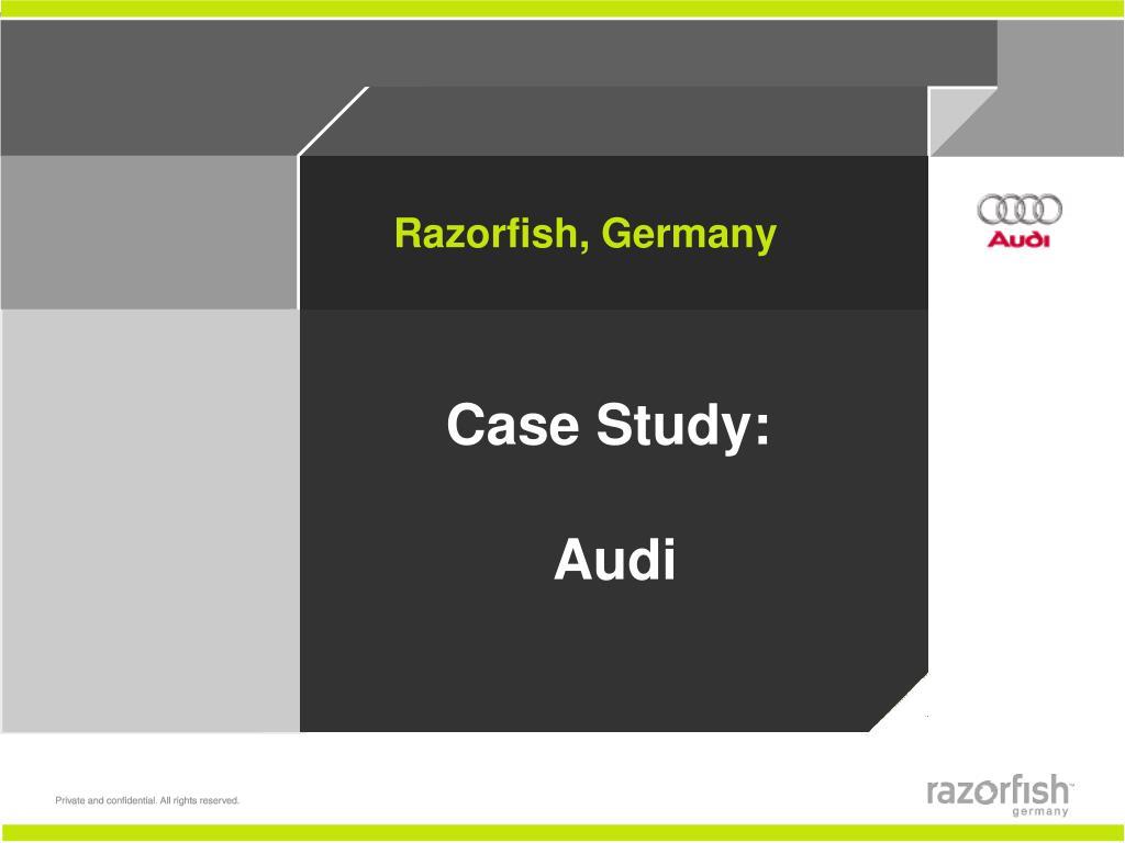 case study audi