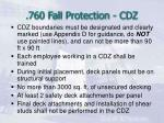 760 fall protection cdz16