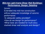 mid rise light frame shear wall buildings performance design detailing3