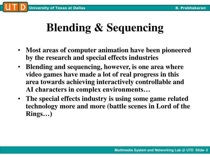 Blending sequencing1