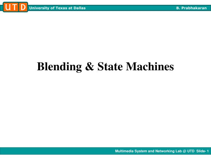 blending state machines n.