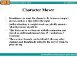 character mover4