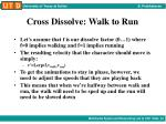 cross dissolve walk to run3