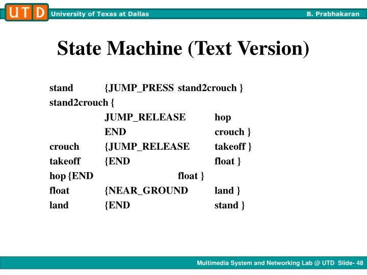 State Machine (Text Version)