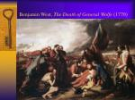 benjamin west the death of general wolfe 1770