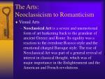 the arts neoclassicism to romanticism5