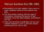 marcus aurelius era 96 180