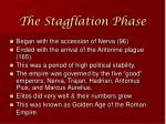 the stagflation phase