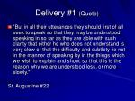 delivery 1 quote