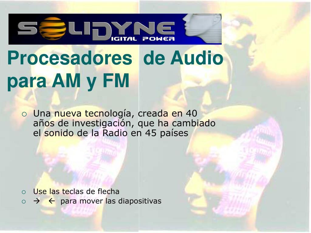 procesadores de audio para am y fm l.