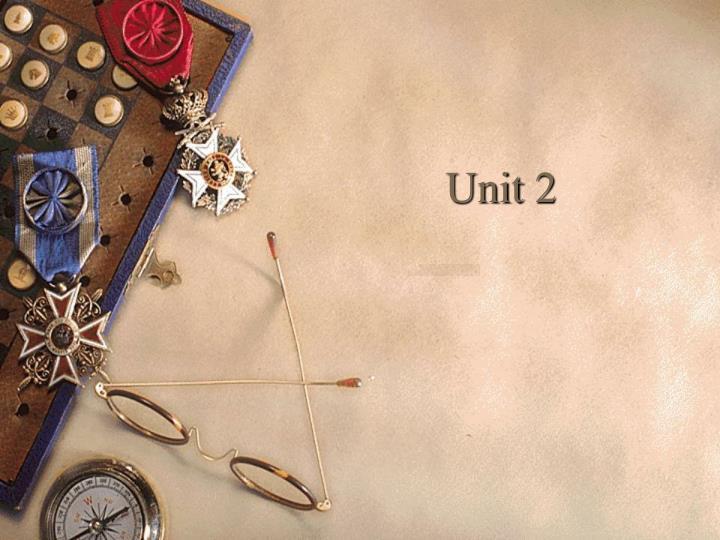 unit 2 n.