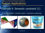 example 4 semantic constraint 1