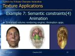 example 7 semantic constraints 4 animation