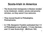 scots irish in america